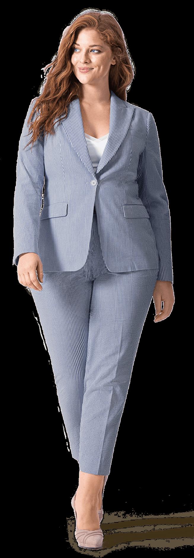 Anzüge für mollige und kurvige Frauen Sumissura