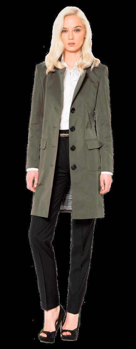 sehr bequem großer Lagerverkauf Bestseller einkaufen Klassischer Grauer Trenchcoat