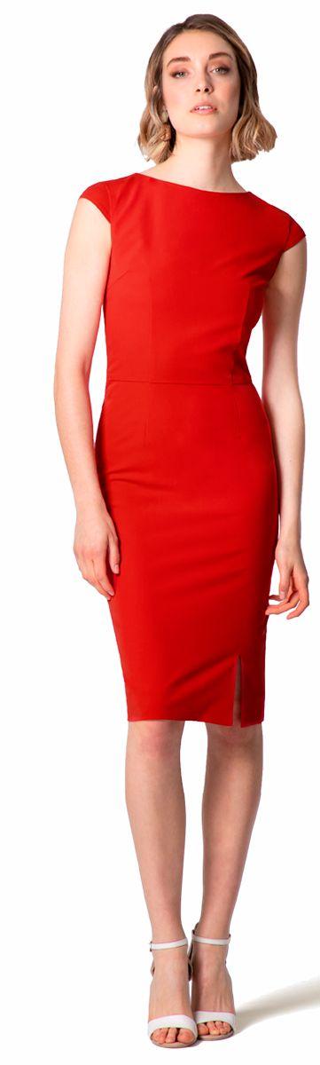 vestido rojo a medida