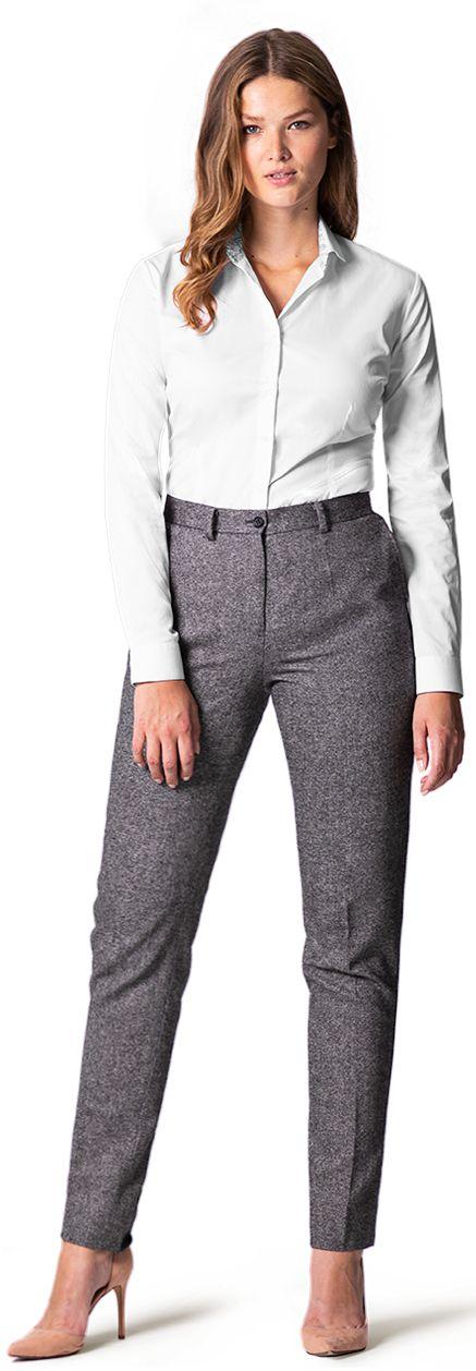 women's tweed trousers
