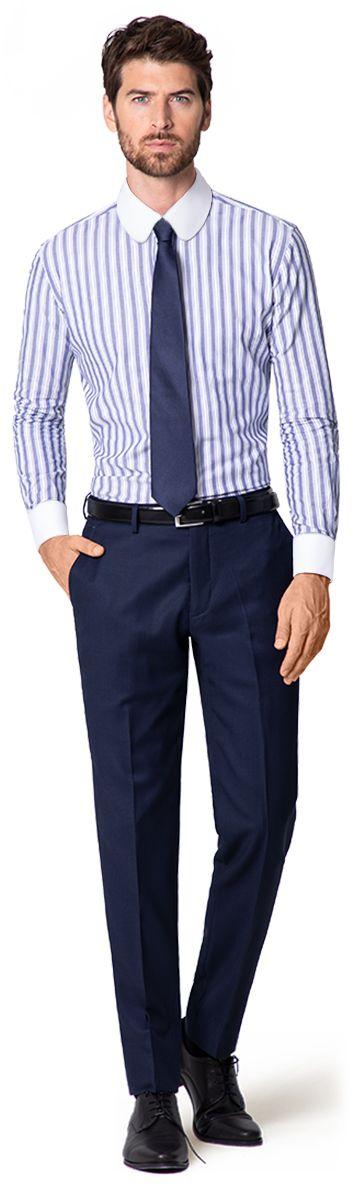 club collar shirt