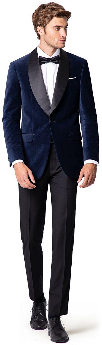 round lapel tuxedo