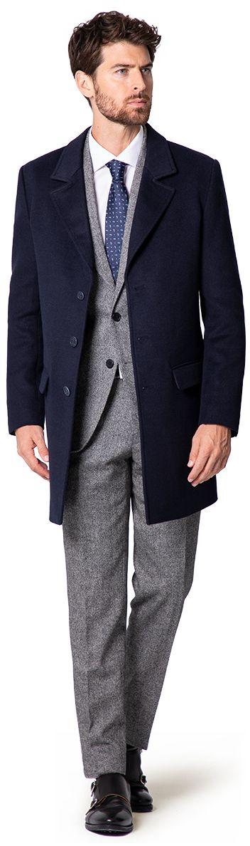 Cappotto di lana uomo
