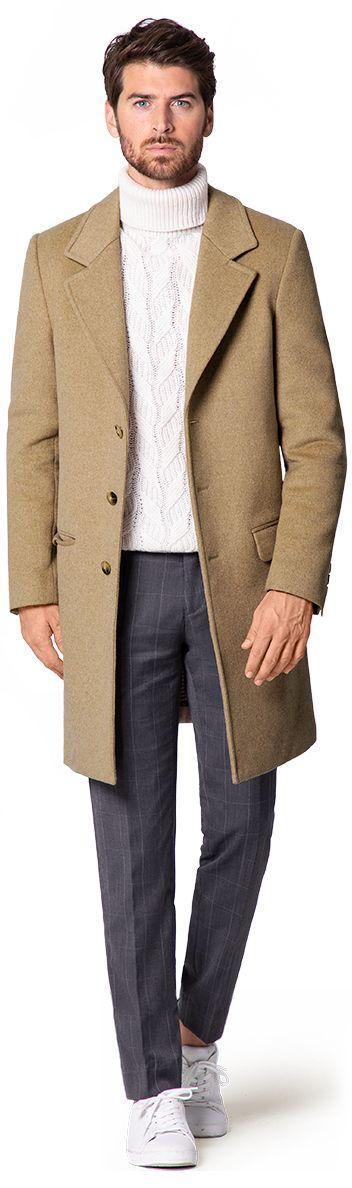 Small overcoats for men