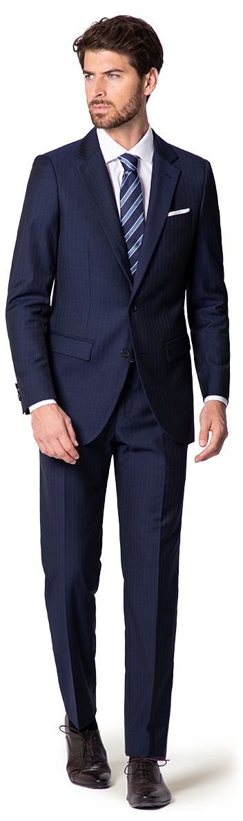 navy wedding suit