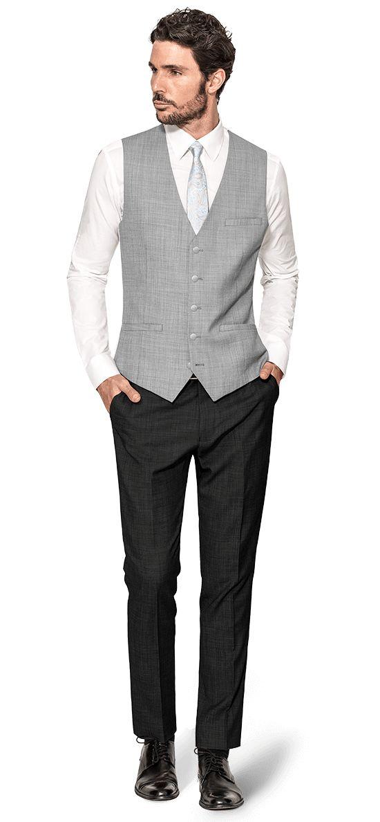 chaleco hombre vestir