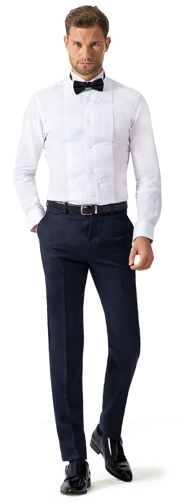 chemise col cassé