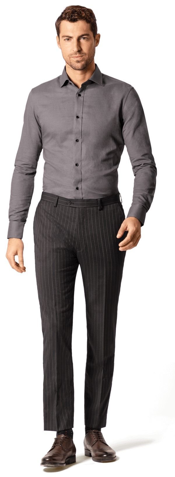 chemise grise