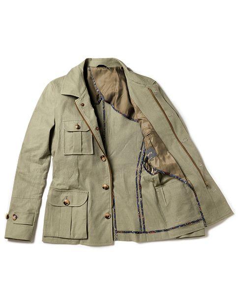 safari jacket men