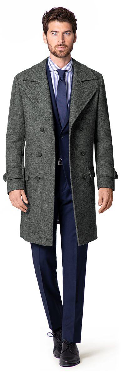 manteaux croisee homme