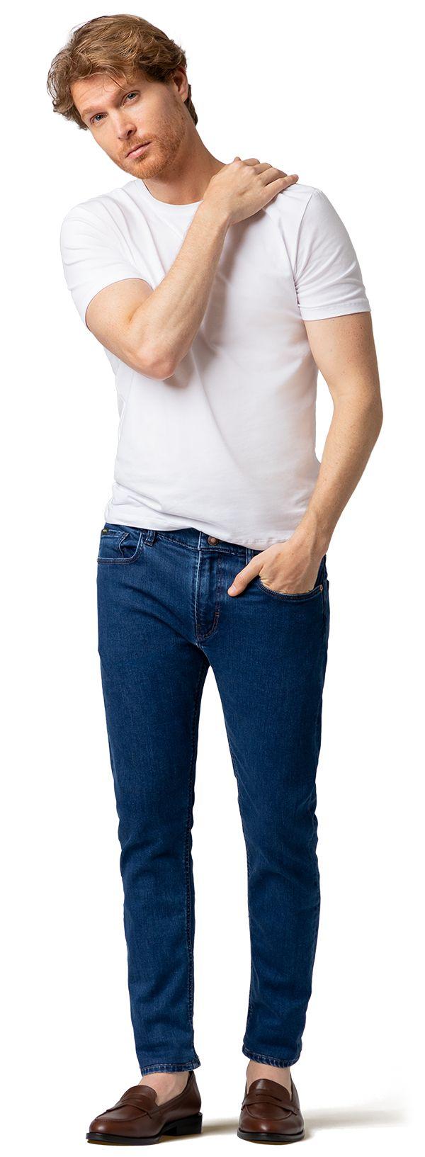 jeans a medida azules