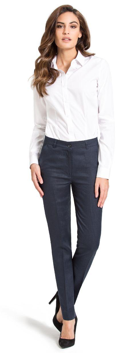 camisa blanca business mujer
