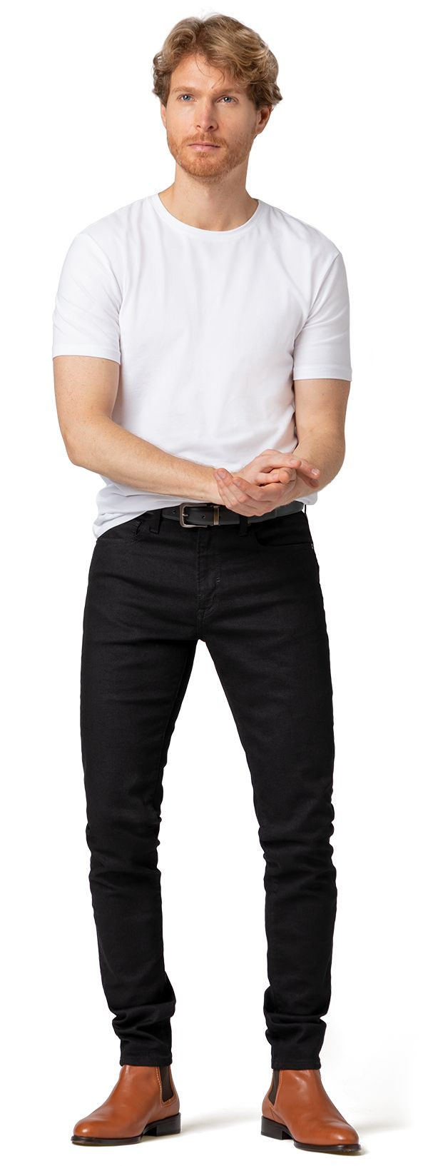 jean noir homme