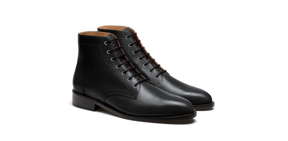 Black dress boots