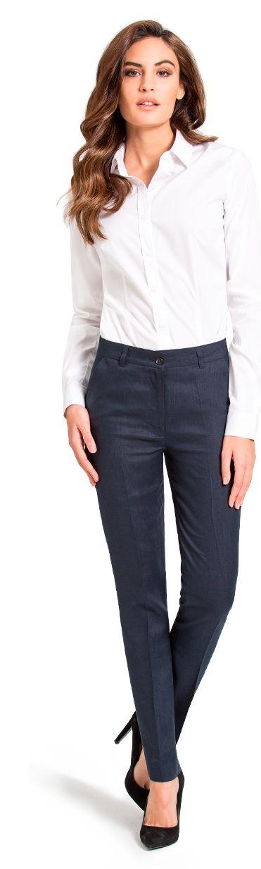 pantalon business mujer a medida