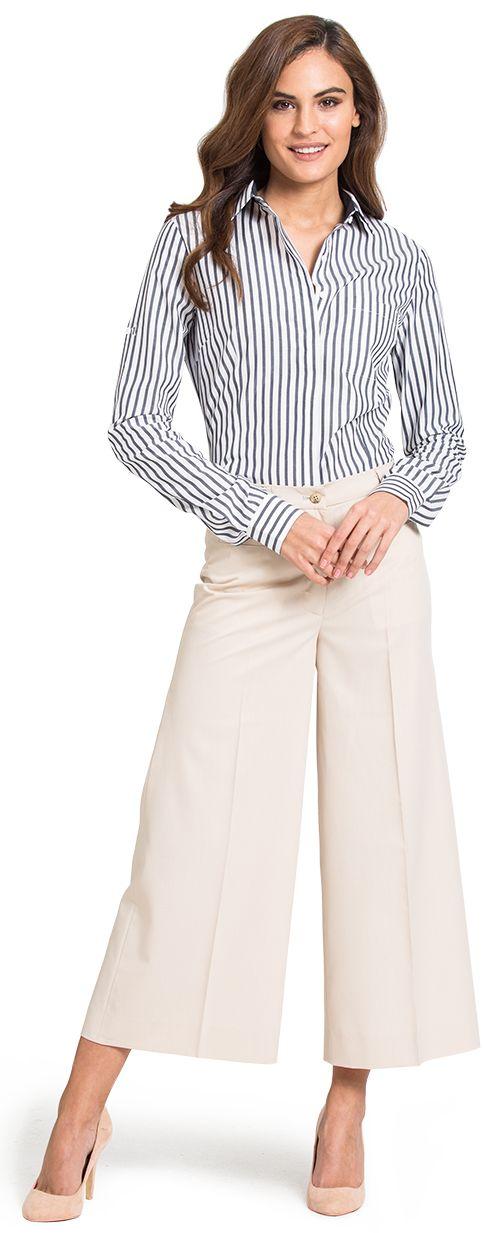 pantalon ancho de mujer a medida