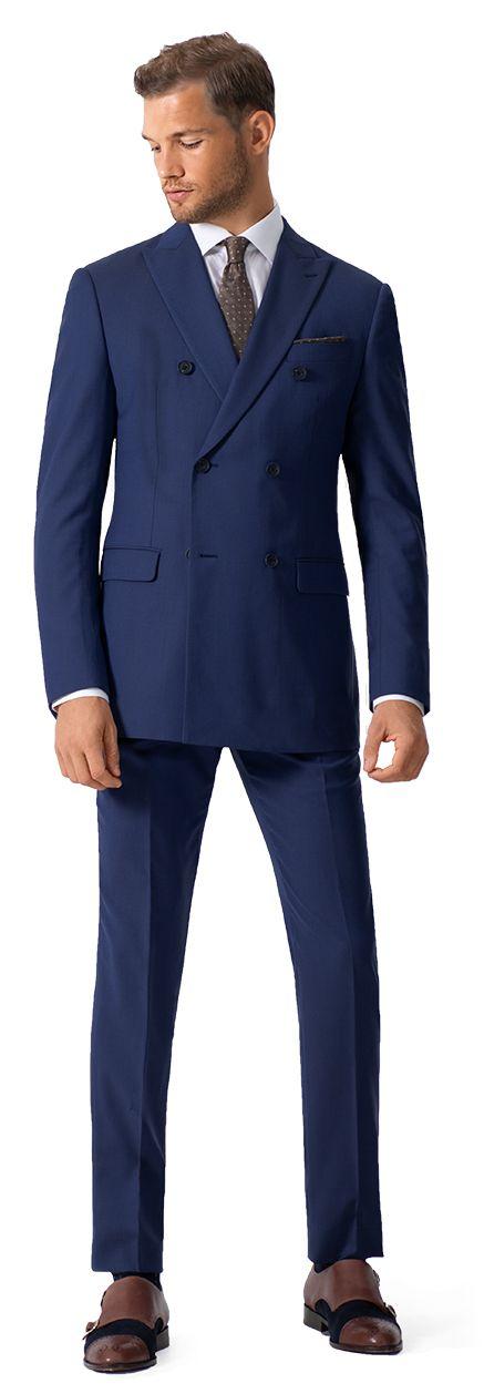 Zweireiher Anzug