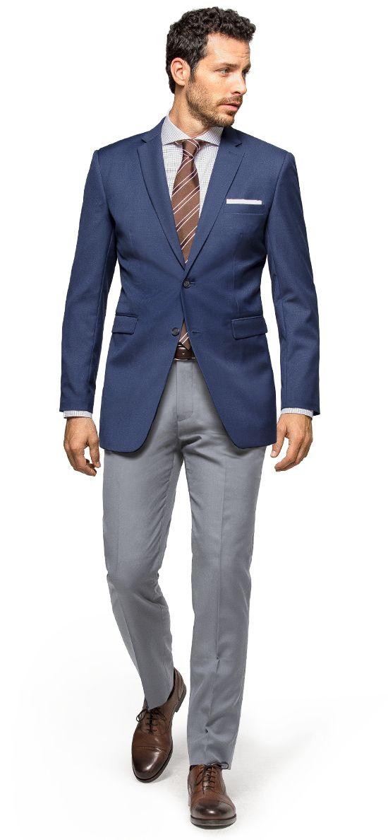 men's blue blazers