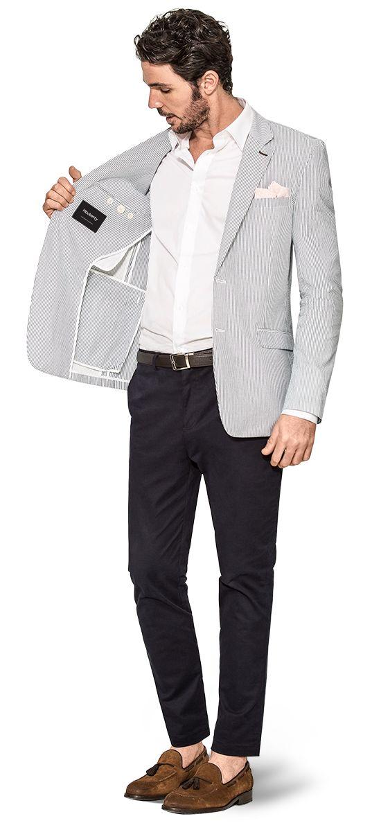 unlined suit