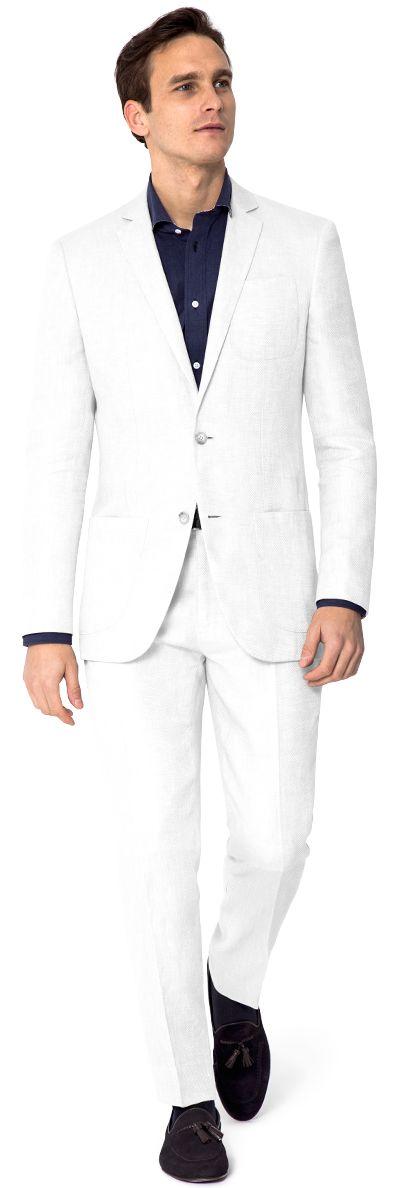 Weisser anzug